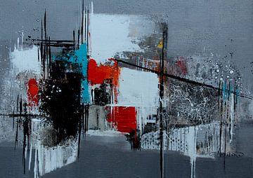 De la série : Compositions en gris sur Claudia Neubauer