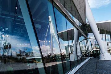 Erasmus Brücke, Rotterdam von Eddy Westdijk