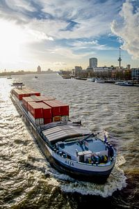 Komen en gaan in Rotterdam van Lisette Breur