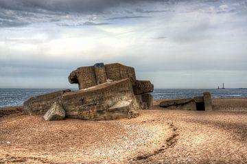 Batterie Blankenese - Néville-sur-Mer, Normandië van Harold Zijp
