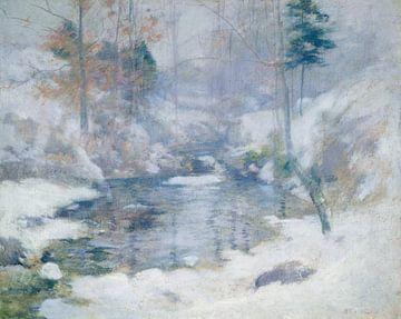 John Henry Twachtman~Harmonie des Winters
