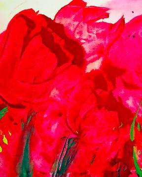 rote Tulpen von M.A. Ziehr