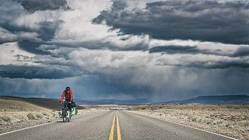 Unwetter in Patagonien Argentinien von Ellen van Drunen