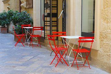 Italiaans terrasje van Inge Hogenbijl