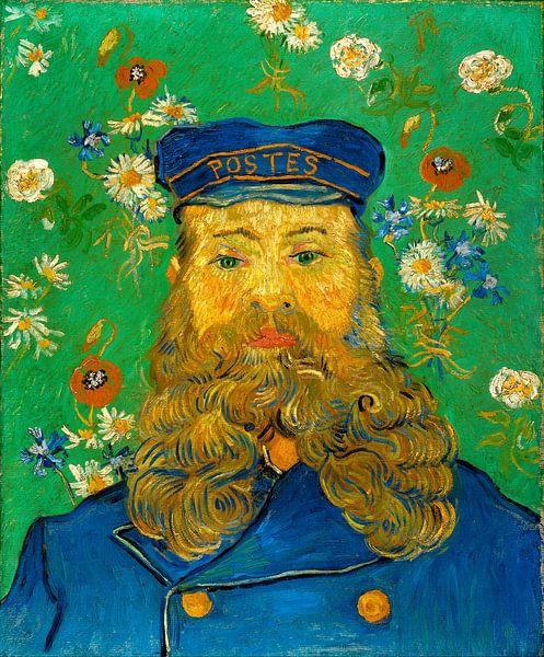 Vincent van Gogh. Portrait of Joseph Roulin van 1000 Schilderijen