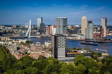 Das Skyline von Rotterdam von Aiji Kley