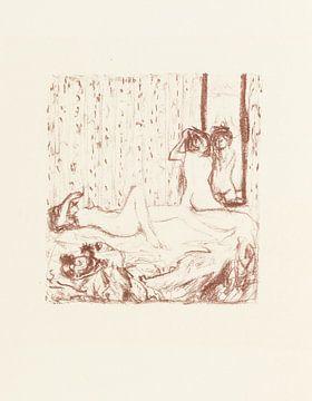 Pierre Bonnard, Parallèlement, 1900 von Atelier Liesjes