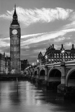 Abends an der Westminster Bridge