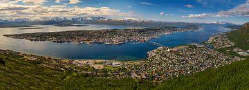 Tromsø Panorama, Noorwegen van Adelheid Smitt