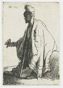Der Aussätzige, Rembrandt van Rijn.