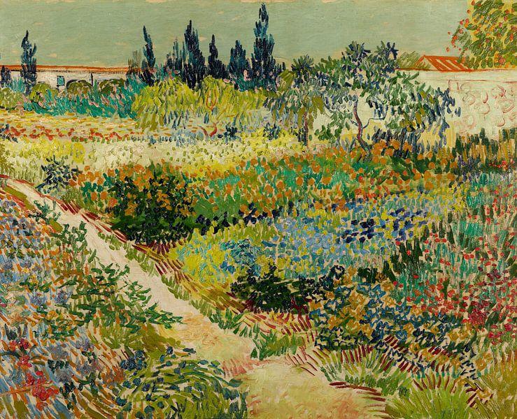 Vincent van Gogh. Tuin te Arles van 1000 Schilderijen
