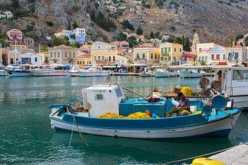 Fischereihafen in Griechenland