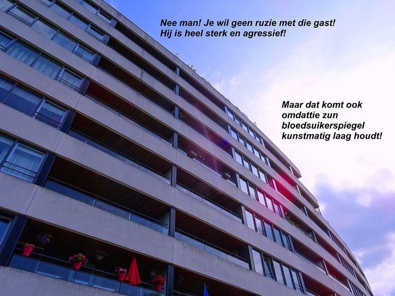 Small Talk: Te Lage Bloedsuikerspiegel! van MoArt (Maurice Heuts)
