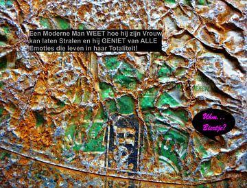 De Moderne Man: Geniet Van Alle Emoties! van MoArt (Maurice Heuts)