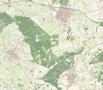 Kaart vanAlphen-Chaam
