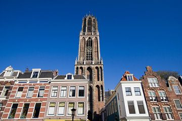 Dom Tower of Utrecht, Holland van Jan Kranendonk