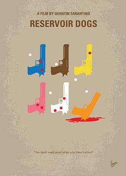No069 My Reservoir Dogs minimal movie poster van Chungkong Art