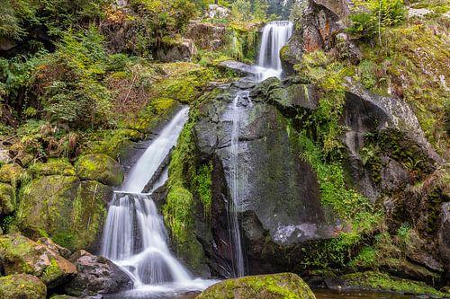 Triberger Wasserfälle (2), Schwarzwald von