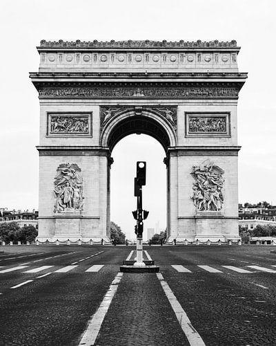 Arc de Triomphe, Paris, Frankreich von Lorena Cirstea