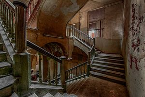 Oud en verlaten wonderlijke wereld van Urbex fotografie