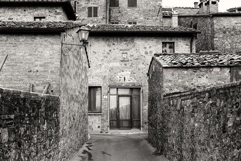 Toscaanse architectuur in zwart-wit van iPics Photography