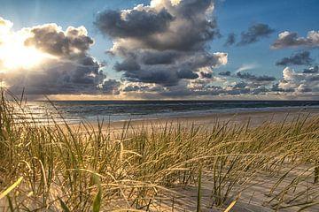 Wolkenhimmel über Rantum von Annett Mirsberger