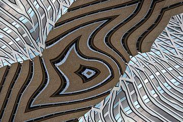 Bâtiments à La Haye différents 03 sur Hans Levendig