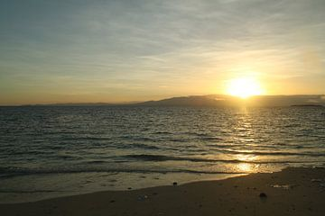 Zonsondergang op Fiji, Treasure Island van Chris Snoek