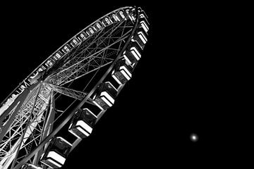Ferris wheel - Reuzenrad van Evelyne Dierikx