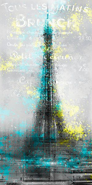 City-Art PARIS Eiffel Tower Letters