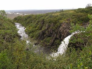 Waterval in Skaftafell