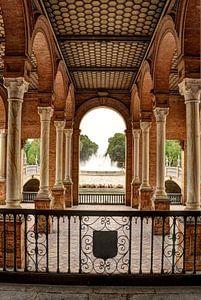 Ingang Plaza de España