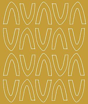 Goldener Bogen von Mad Dog Art