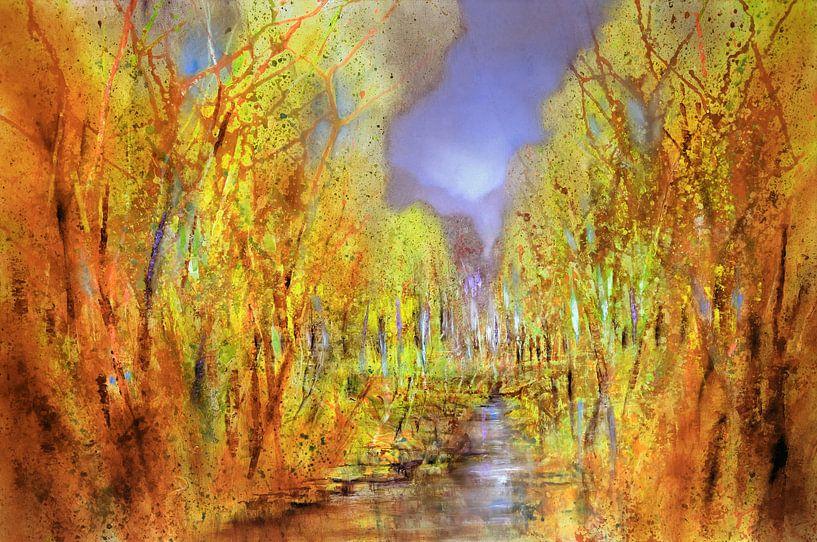 Skovene er allerede farverige van Annette Schmucker