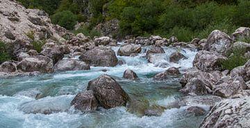 Blauwe rivier van J Y