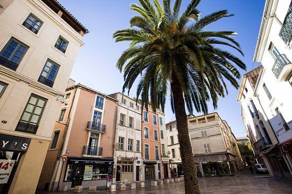 De prachtige stad Nimes in Zuid-Frankrijk