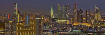 Rotterdam Centrum by Night van