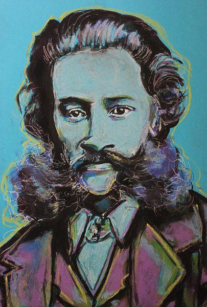 Johann Strauss sur Helia Tayebi Art