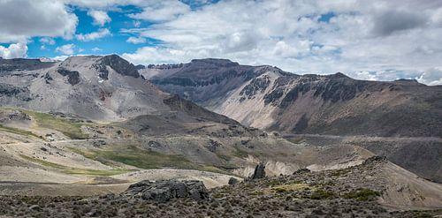 Vallei in de buurt van Chivay, Peru