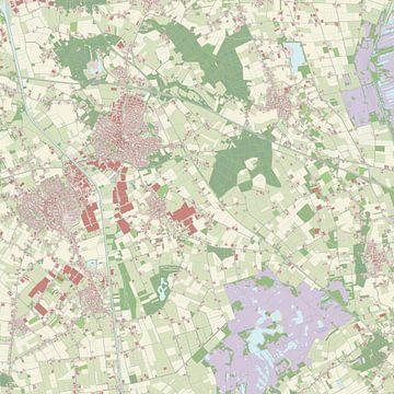 Kaart vanAsten