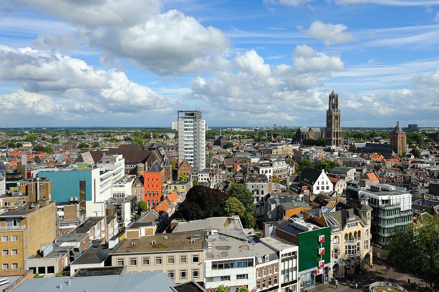Uniek uitzicht op Utrecht