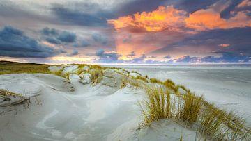 Sonnenuntergang auf Texel von Fotografiecor .nl