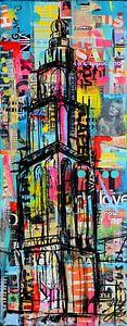 Martinitoren Big City (Martiniturm) von Janet Edens