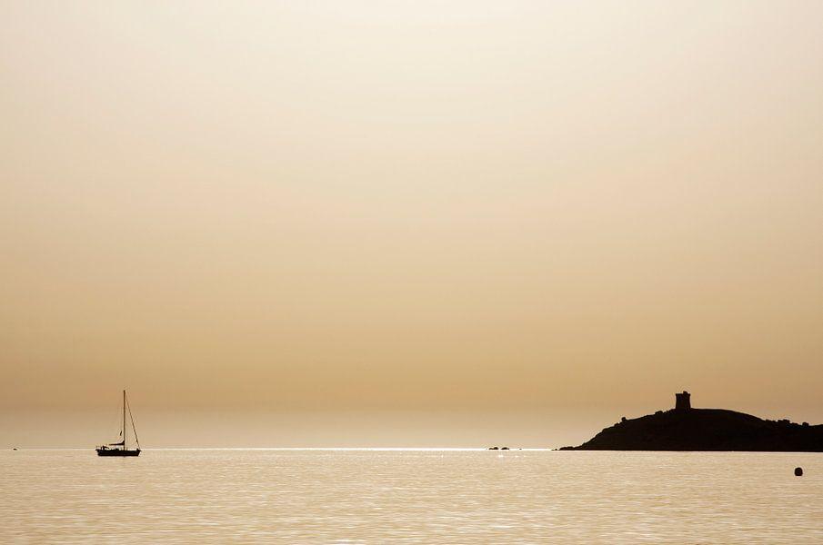 Gouden zonsondergang van Marlon Mendonça Dias