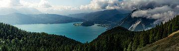 Panorama vom Walchensee von Alexander Dorn