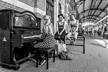 Station Groningen, de Piano sur Klaske Kuperus
