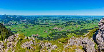 Panorama vom Grünten von Walter G. Allgöwer