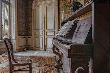 Wie bespeelt deze piano? van Lien Hilke