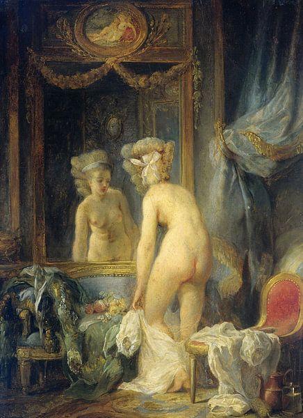 Morgentoilet, Jean Frédéric Schall sur Meesterlijcke Meesters