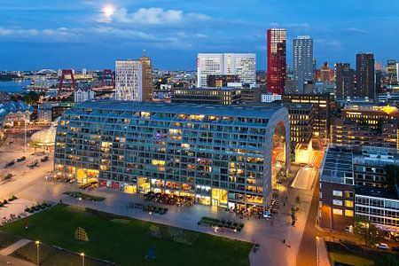 Markthal overzicht te Rotterdam
